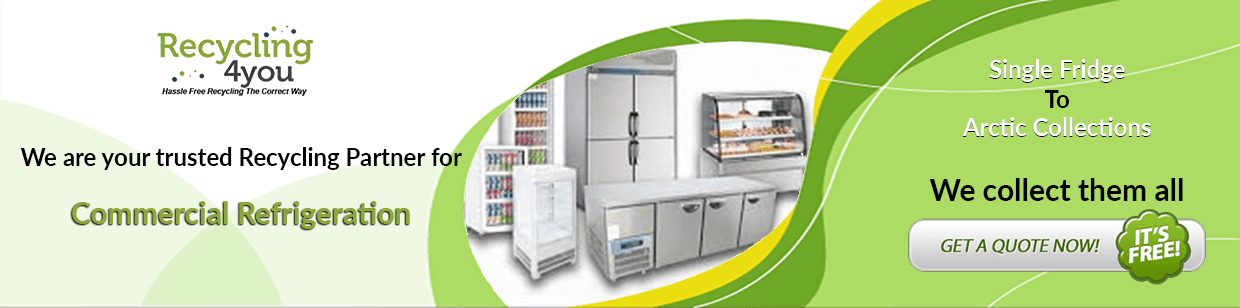 Commercial Fridge Disposal & Refrigeration Recycling Collections